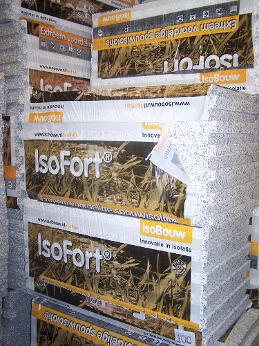 Isofort spouwisolatie 60x120cm 80mm Rc 2,5  (7 plaat per pak)