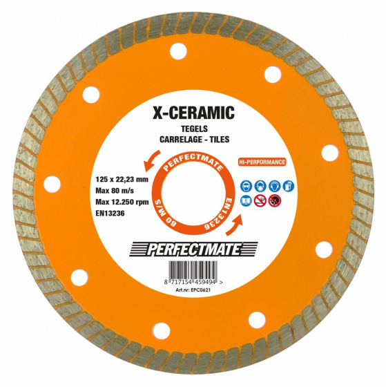 X-Ceramic Tegels Diamantzaag 125mm